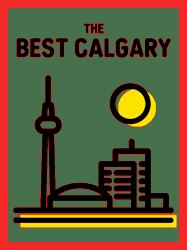 The Best Calgary Logo